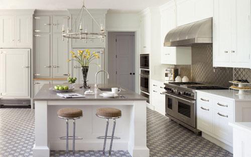 رنگ دکوراسیون آشپزخانه:جیوه ای