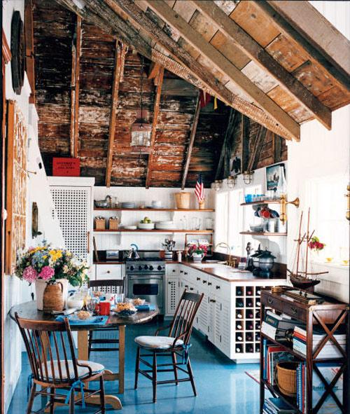 رنگ دکوراسیون آشپزخانه:اعماق اقیانوس