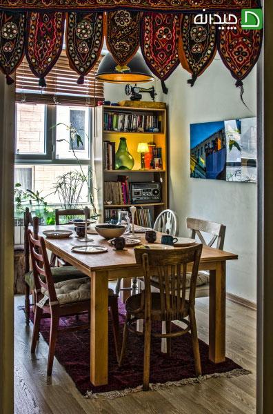 نکته های مهم برای طراحی دکوراسیون اتاق غذاخوری
