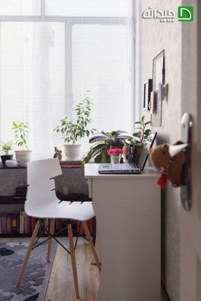 کته های مهم برای دکوراسیون اتاق کار