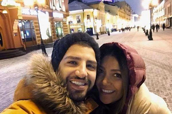 زانیار خسروی و همسرش ارنیکا صادقی