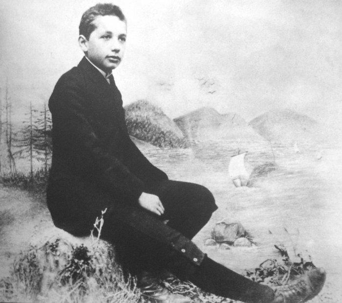 جوانی آلبرت اینشتین
