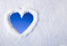 دانلود عکس و والپیپر برفی عاشقانه برای پروفایل