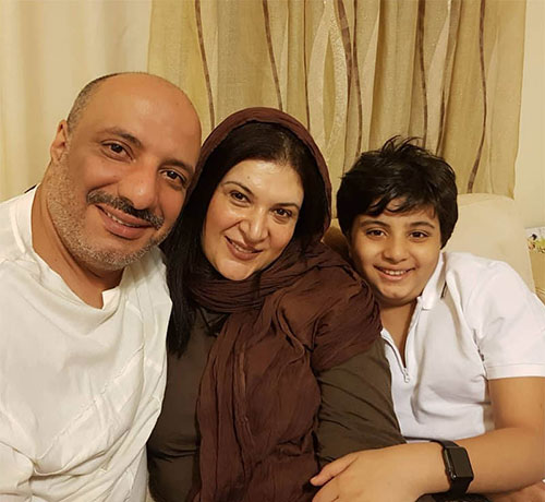 ریما رامین فر و پسرش آیین
