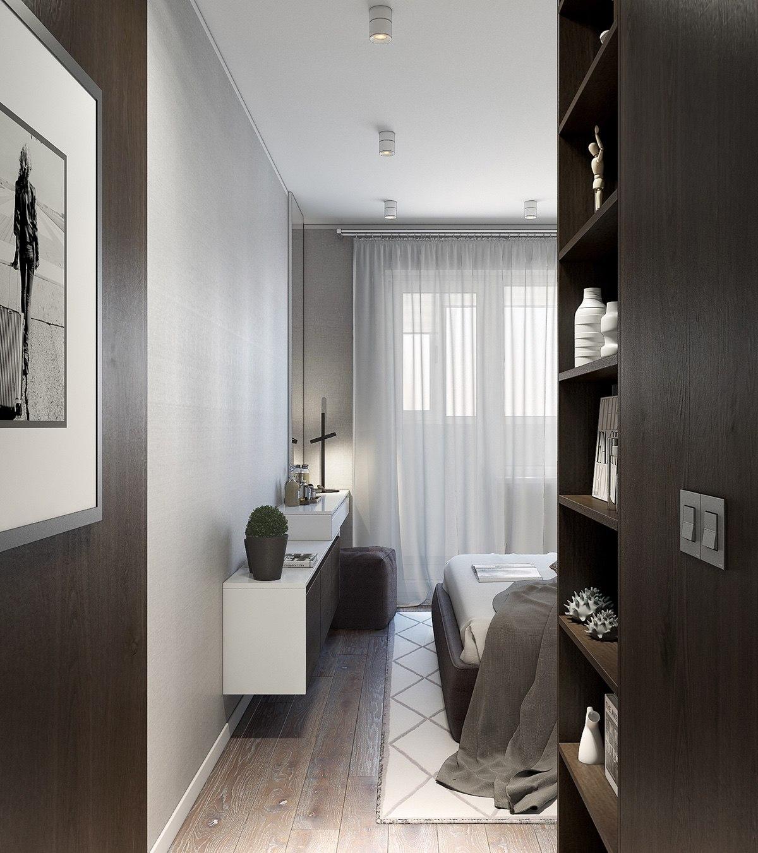 دکوراسیون خاکستری و مدرن خانه ای در بلاروس