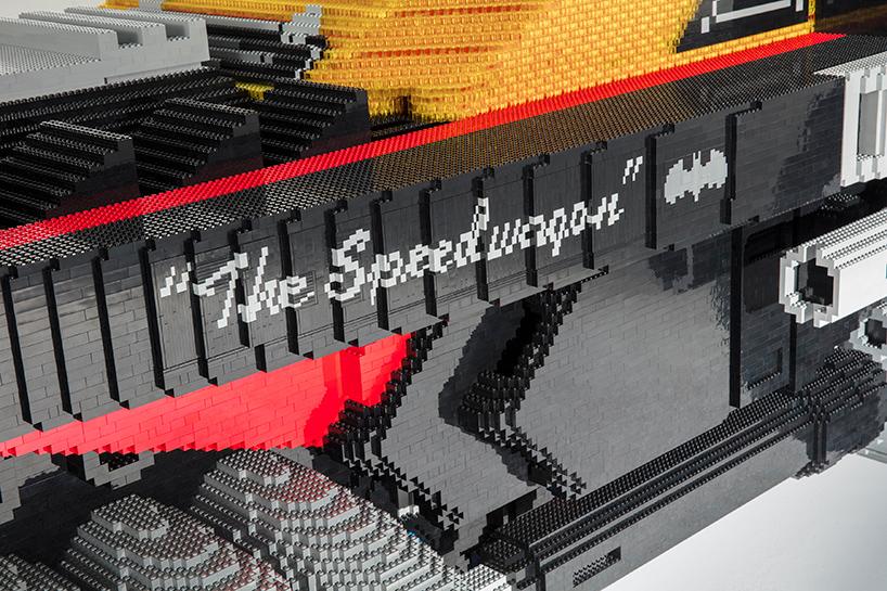 ساخت ماشین بتمن با آجر لگو توسط شورولت