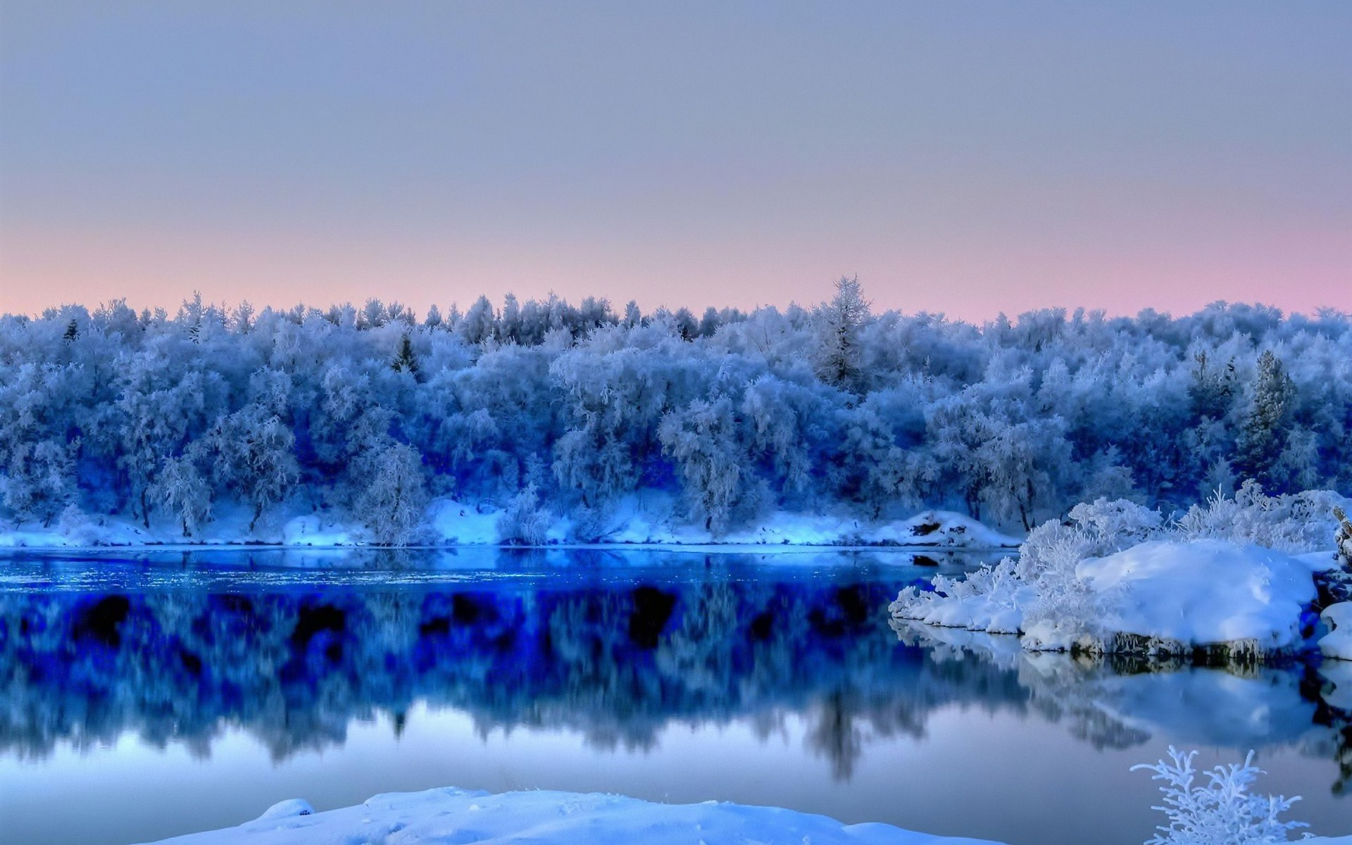 عکس زمستان زیبا برای پروفایل