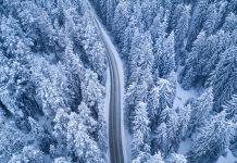 عکس های هوایی نفس گیر و زیبا از فصل زمستان