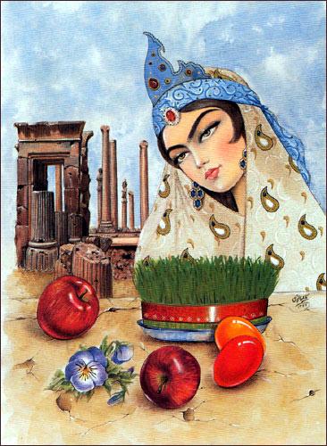 پیامک و اس ام اس تبریک عید نوروز به زبان عربی