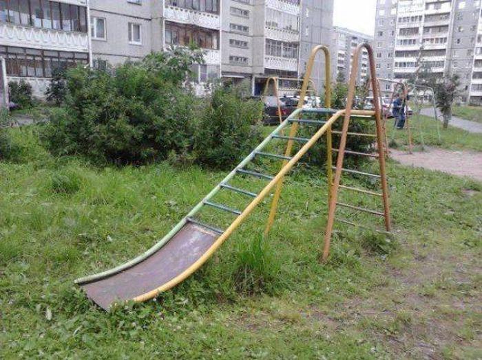 عکس های خفن و باحال خنده دار : فقط در روسیه !