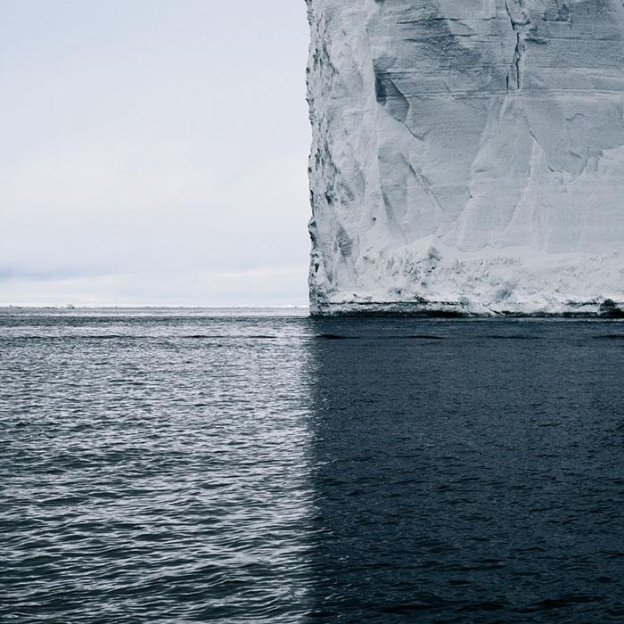 قطب جنوب، 4 رنگ مختلف آبی