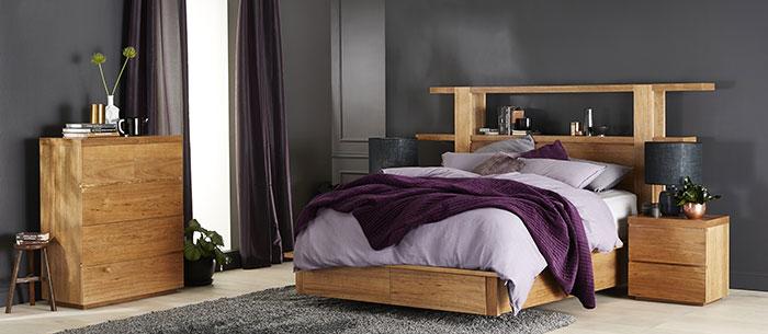 مدل تخت خواب کلاسیک و ساده دو نفره