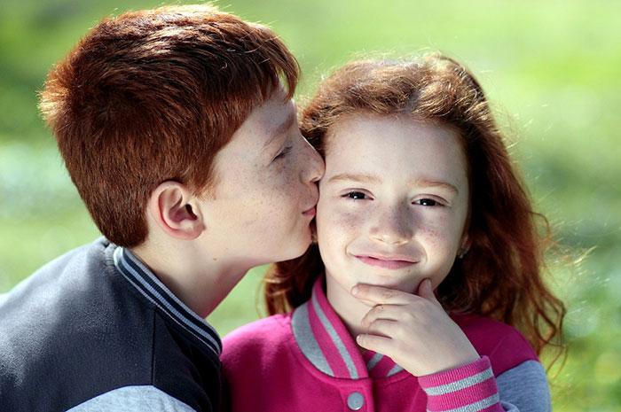 عکس عاشقانه داغ دختر و پسر