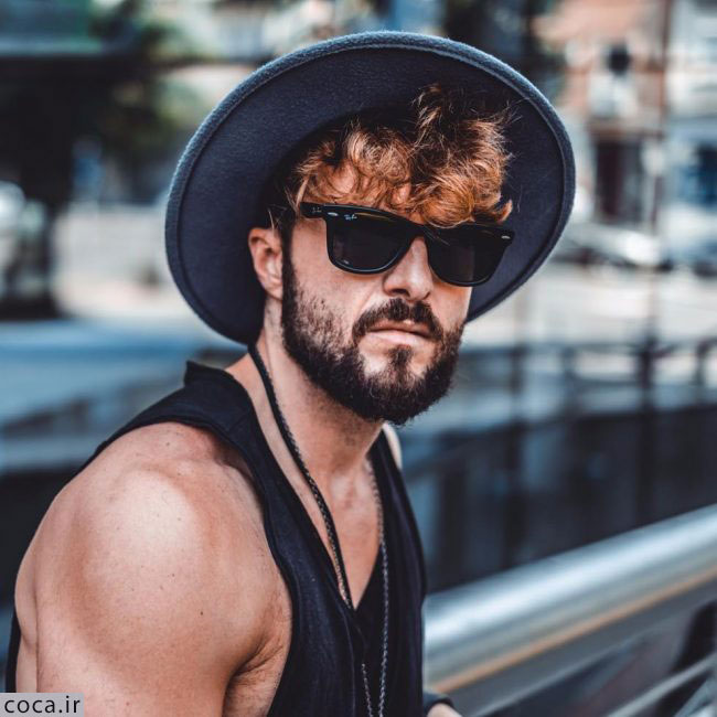 مدل ریش بلند سفید خاکستری مردانه
