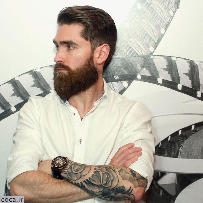 مدل ریش بلند مردانه شیک
