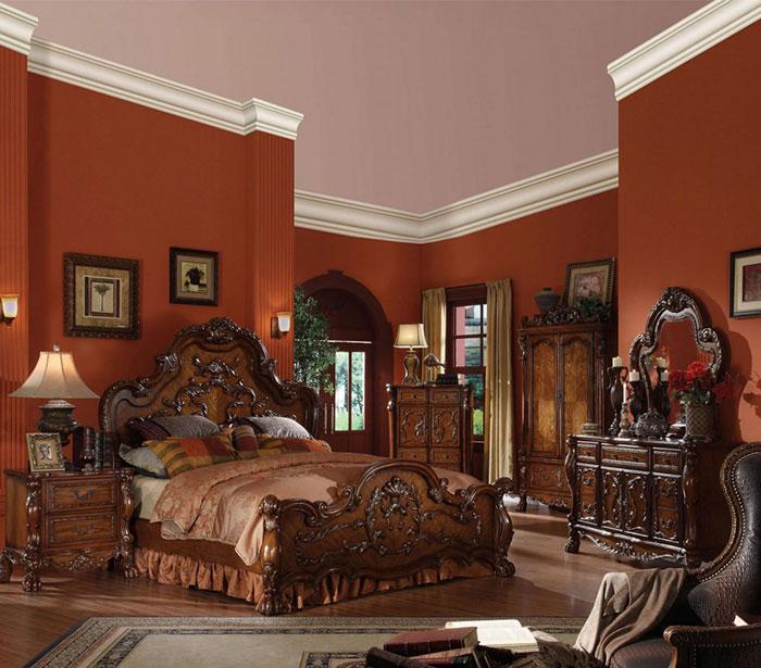 انواع مدل تخت خواب دو نفره سلطنتی