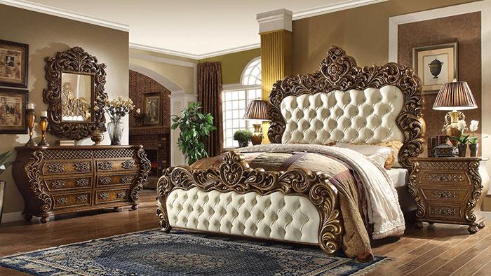 مدل شیک تخت خواب دو نفره سلطنتی
