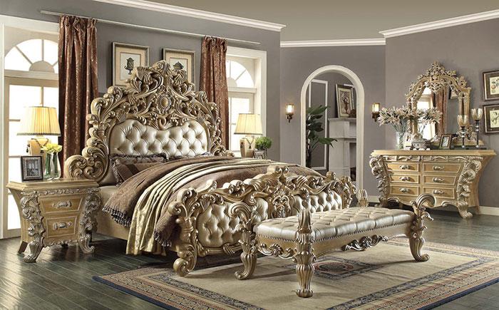 مدل جدید تخت خواب دو نفره سلطنتی