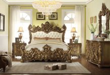 مدل تخت خواب دو نفره سلطنتی