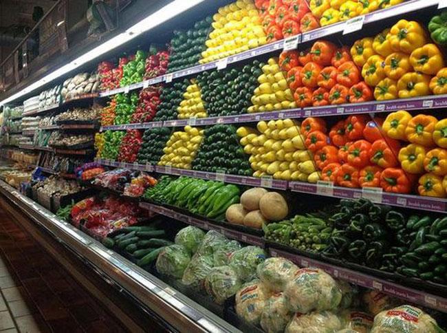عکس دکوراسیون میوه فروشی