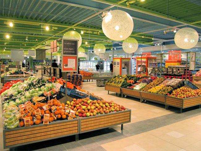 طراحی داخلی مغازه میوه فروشی