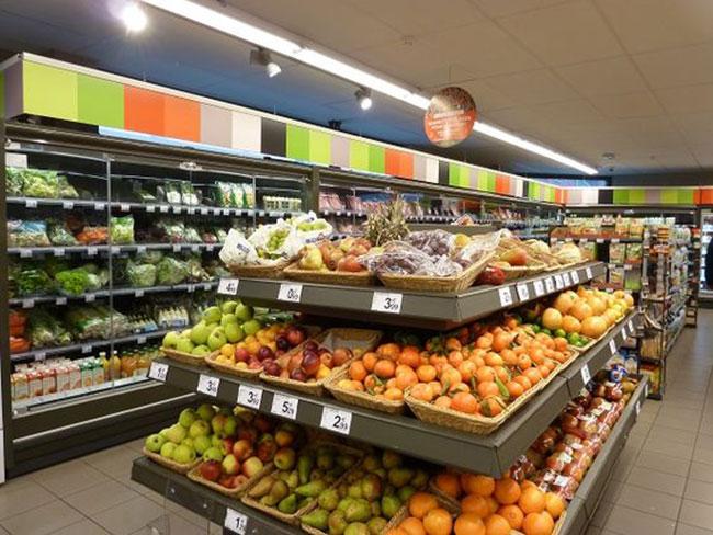 دکوراسیون داخلی مغازه میوه فروشی