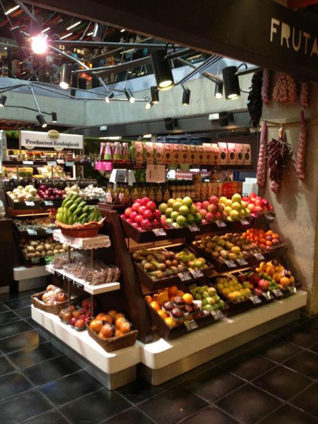 دکور داخلی مغازه میوه فروشی