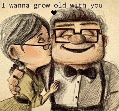 عکس نوشته عاشقانه انگلیسی کارتونی