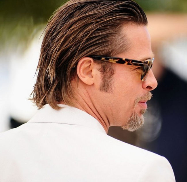 مدل مو بلند کلاسیک مردانه