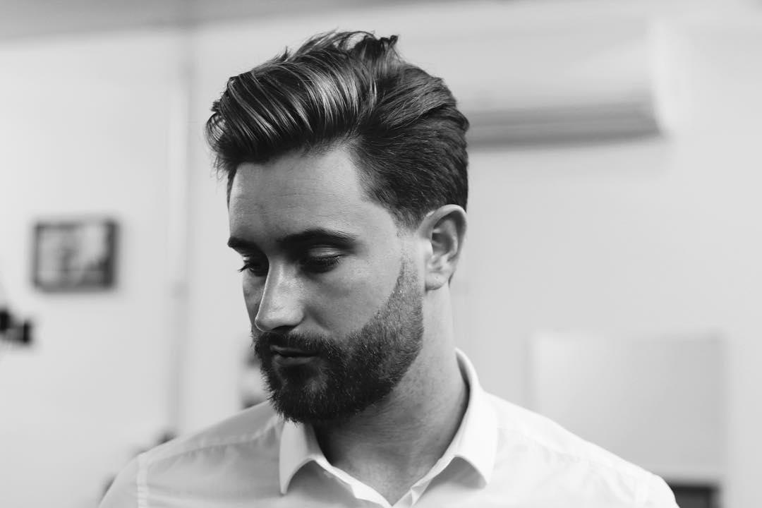 مدل مو مردانه نیمه بلند