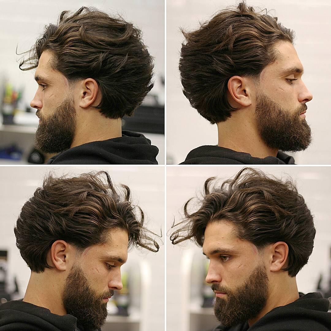 مدل مو بلند مردانه 2017
