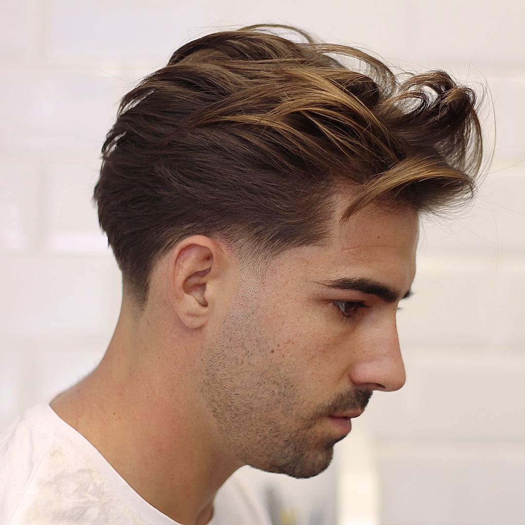 مدل مو پسرانه بلند