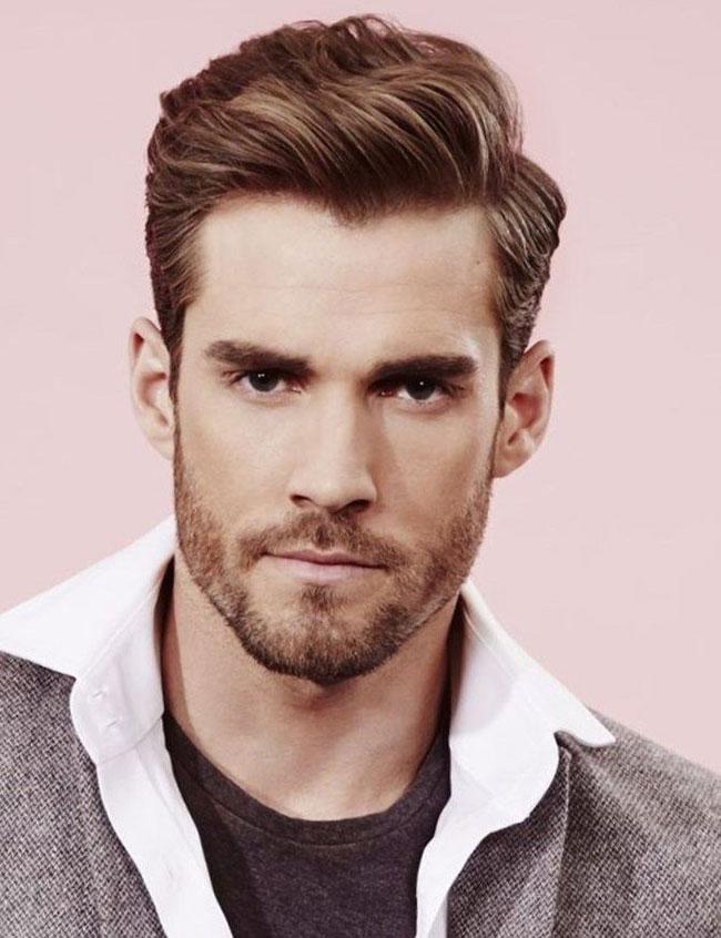 مدل مو کلاسیک مردانه