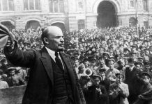 انقلاب اکتبر روسیه : لنین