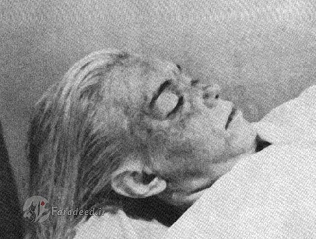 جسد مرلین مونرو