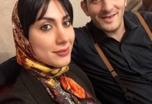 عکس میثم درویشان پور خندوانه و همسرش