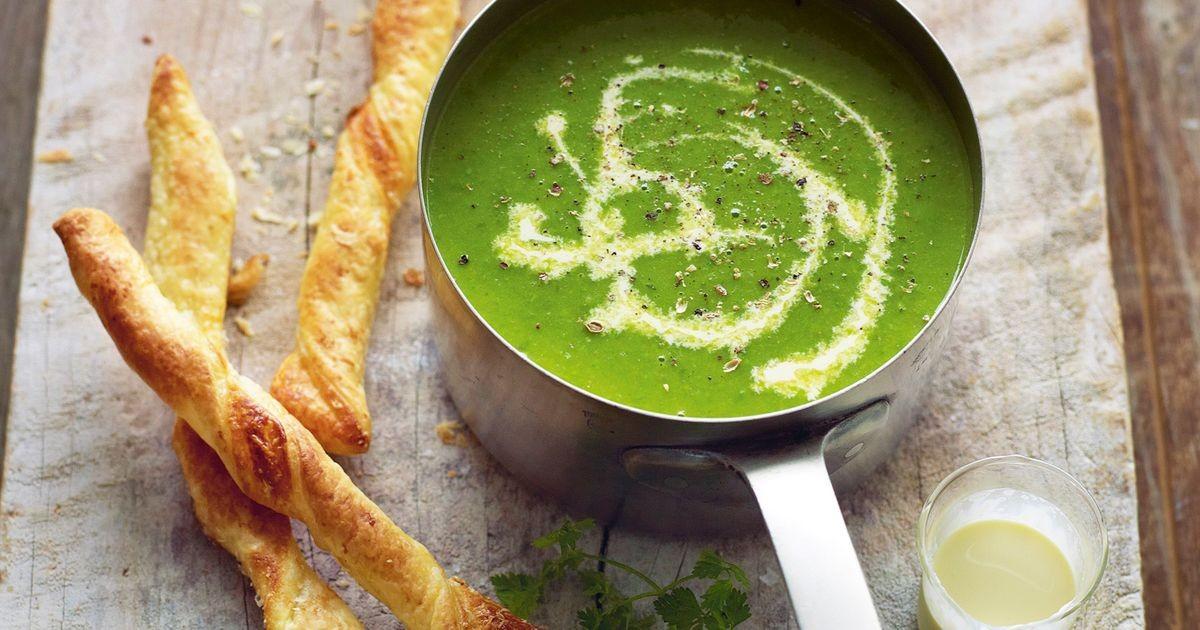 تزیین سوپ مارچوبه , طرز تهیه سوپ مارچوبه