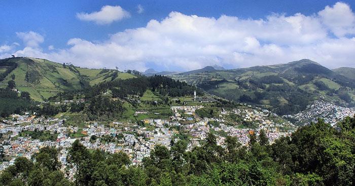 چشم انداز های زیبا از اکوادور