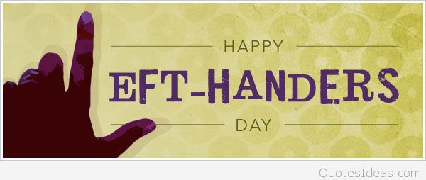 عکس تبریک روز جهانی چپ دست ها