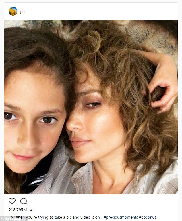 جنیفر لوپز و دخترش امی