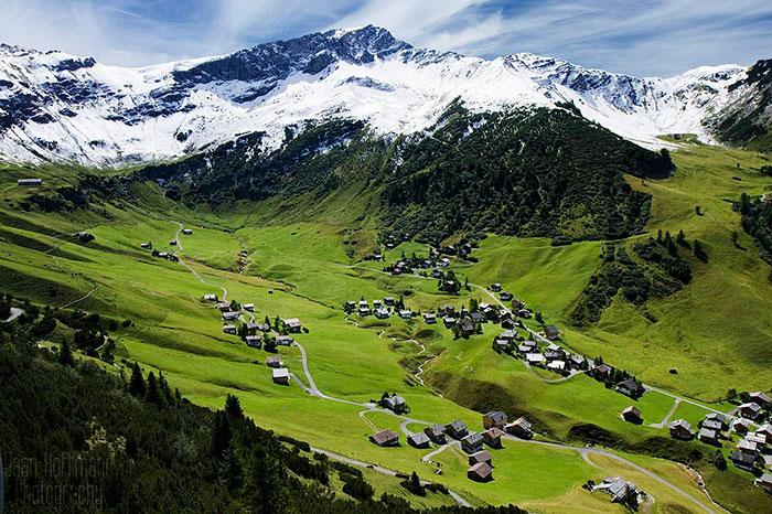 مناظر طبیعی کشور لیختن اشتاین
