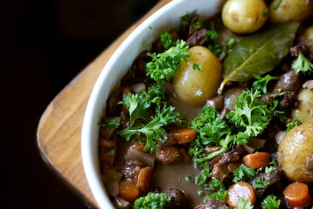 تزیین خورش قارچ , خورش قارچ با سبزی