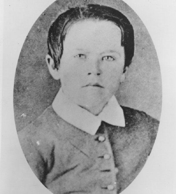 عکس کودکی توماس ادیسون