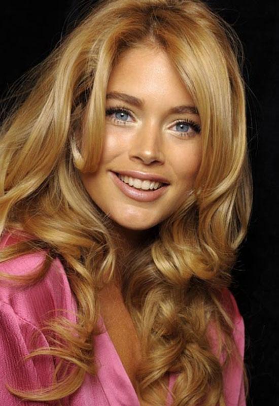 رنگ موی عسلی زیتونی
