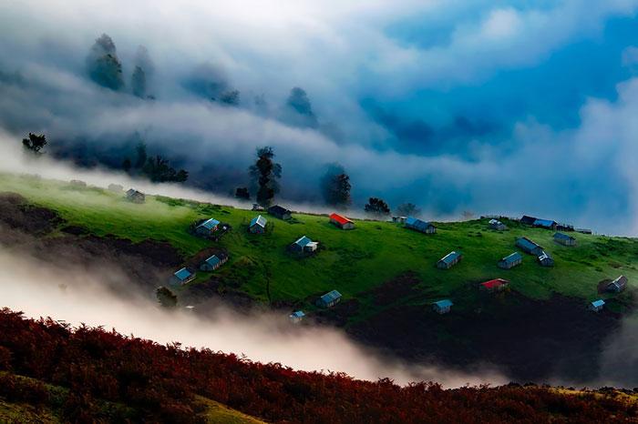 عکس زیبا از طبیعت شمال ایران با کیفیت بالا