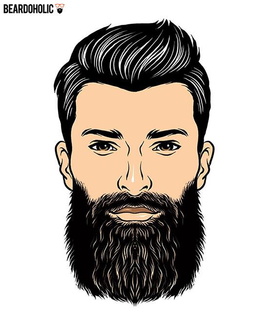 مدل ریش بلند مردانه