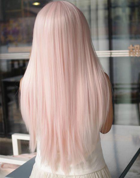 رنگ مو صورتی یخی