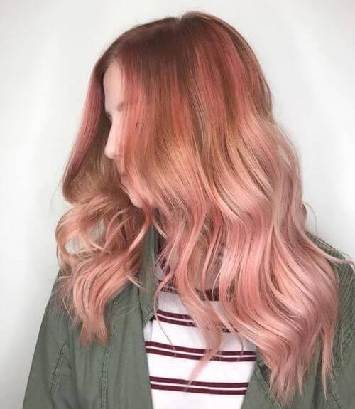 رنگ رز گلد مو, فرمول ترکیب