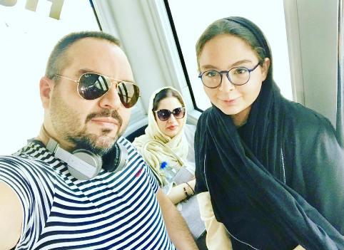 عکس های جدید شهرام قائدی و همسر و دخترش