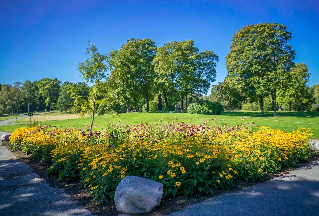 طبیعت گل و گیاه سوئد